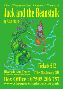 Jack and the Beanstalk Matinee @ Riverside Arts Centre | Sunbury-on-Thames | England | United Kingdom