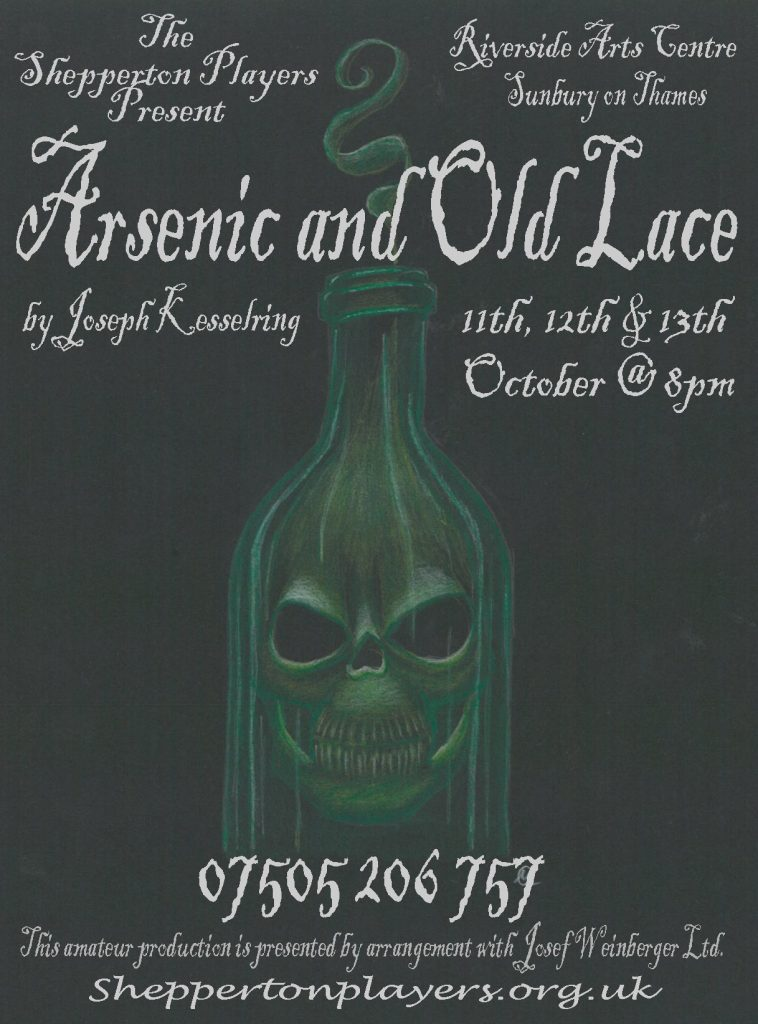 Arsenic and Old Lace @ Riverside Arts Centre | Sunbury-on-Thames | England | United Kingdom